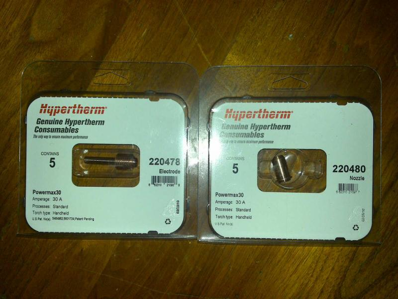 hypertherm components, if i dont have them, i can get them.